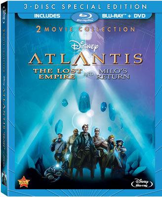 Atlantis: The Lost Empire and Atlantis: Milo's Return
