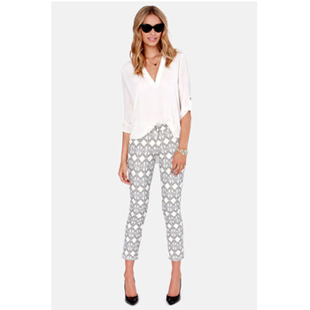 Lulu's printed pants, $47