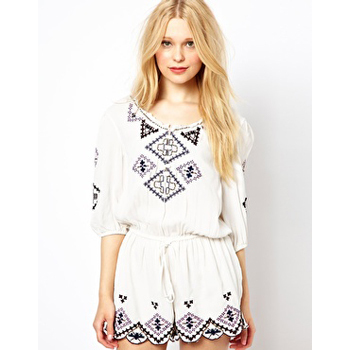 River Island playsuit, $40