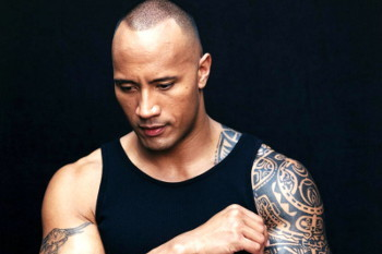 Dwayne Johnson comes from a long line of wrestlers
