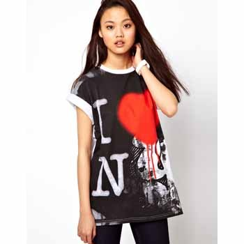 River Island New York t-shirt, $30