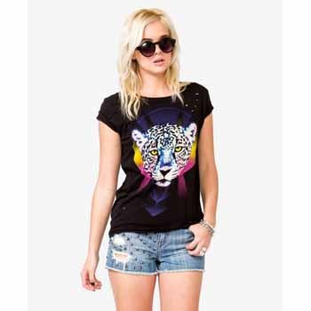 Forever 21 tiger t-shirt, $12.75