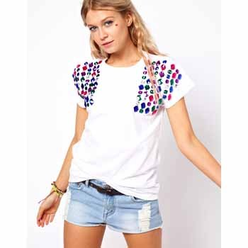 Asos jewelled t-shirt, $40