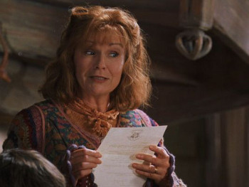 Molly Weasley in Harry Potter