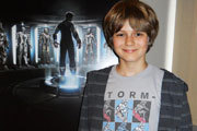 Exclusive Interview: Ty Simpkins: Iron Man's Tween Assistant