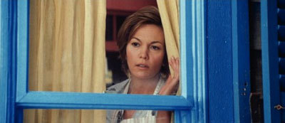 Mom Martha (Diane Lane) worries about Clark Kent