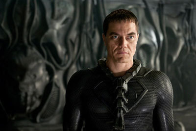 Zod (Michael Shannon) on Krypton