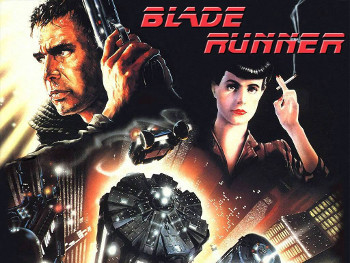 Harrison Ford stars in Blade Runner