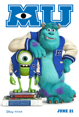Mike and Sulley in college