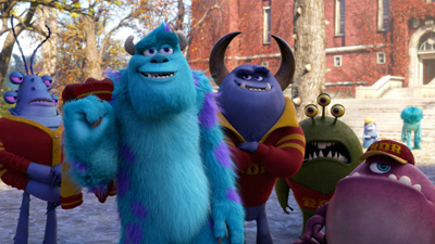 Sulley joins the cooler frat