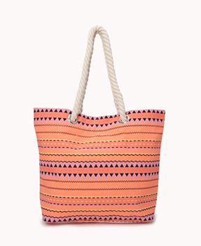 Forever 21 printed tote, $10