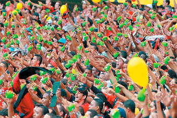 World Cup 2014 :: The Brazilian Caxirola