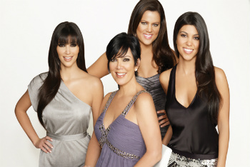 Kim, Khloe, Kourtney and Mom Kris