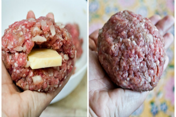 How to Make an Inside-Out Cheeseburger
