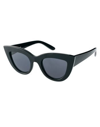 Asos cat eye sunglasses, $12