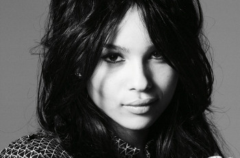 Zoë Kravitz is the daughter of rock star Lenny Kravtiz
