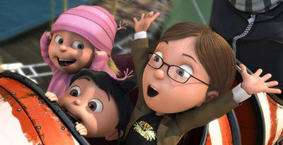 Margo and her sisters in the first Despicable Me