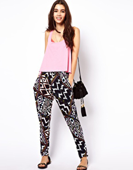 Asos printed pants, $40