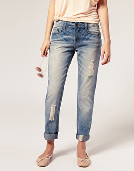 Asos boyfriend jeans, $50