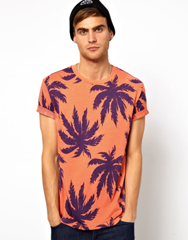 Asos palm tree t-shirt, $24