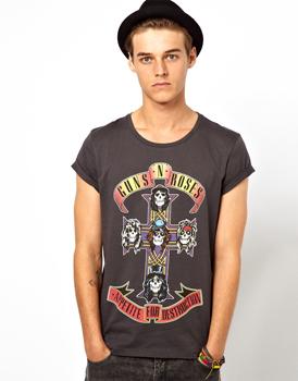 Guns N Roses t-shirt, $32