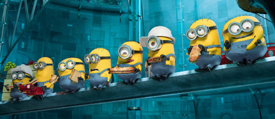 Feature despicable me 2 feat