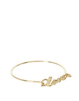 Asos Love bracelet, $12