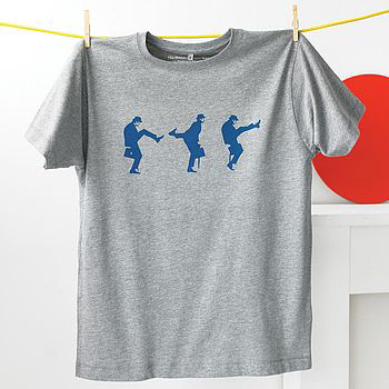 Ministry of Silly Walks t-shirt, $41
