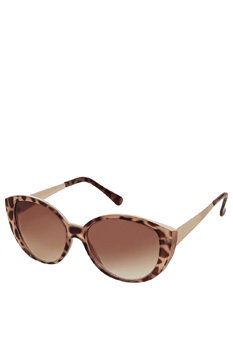 Topshop cat-eye sunglasses, $30