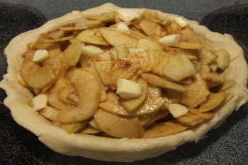 Making Apple Pie