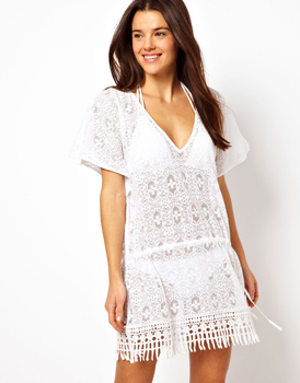 Asos beach cover up, $22