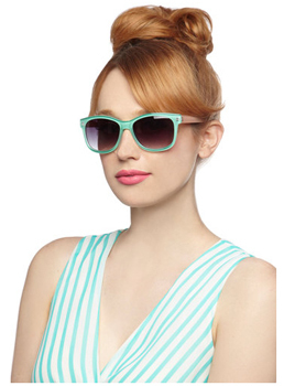 Modcloth sunglasses, $11.99