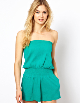 Asos beach playsuit, $32