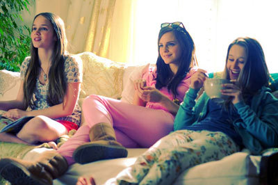 The Bling Ring enjoying their stolen bling