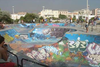 Marseille Skatepark,