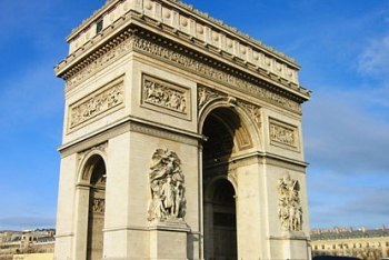 The Arc de Triomphe