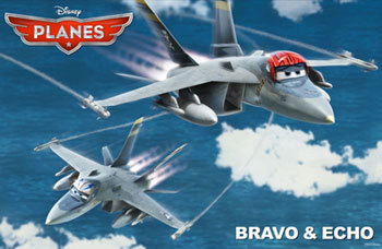 Top Gun planes Bravo and Echo