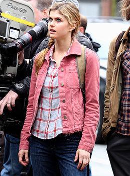 Alexandra as Annabeth