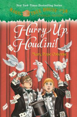 Hurry Up, Houdini Book Cover