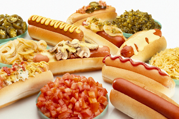 Ketchup, relish and mustard are just a few classic toppings