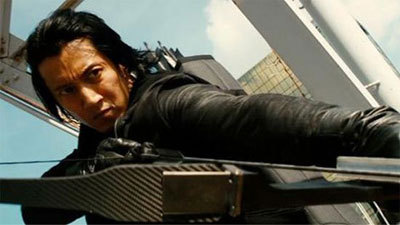 Ninja archer Harada