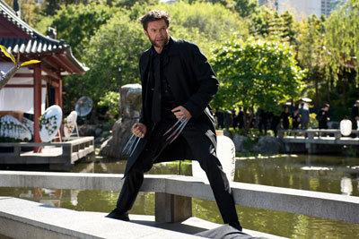 Wolverine at Yashida's funeral