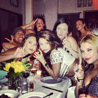 Selena Gomez celebrates her 21st birthday