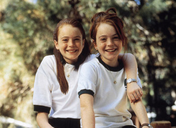 You're not seeing double - Lindsay Lohan played twins in The Parent Trap