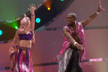 Malece and Jade Performing Bollywood