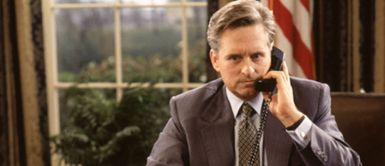 Feature michael douglas american president feature