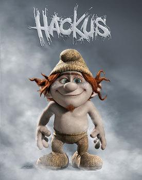 Smurfette's bro Hackus