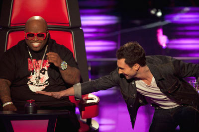 Adam tries to push CeeLo's button