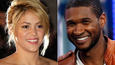 Shakira and Usher leave the show