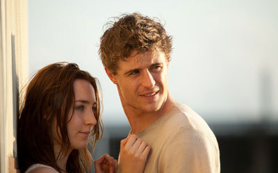 Saoirse as Melanie and Max as Jared